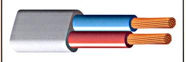 Elektros instaliacijos kabeliai Lietkabelis BVV-PL, 2 x 1,5 mm²