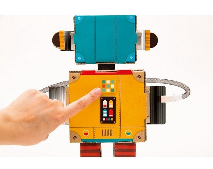 Clementoni Play Creative Fun Robot Set