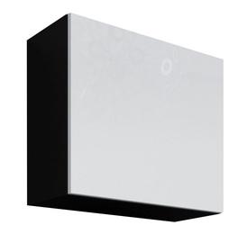 Cama Meble Vigo Square Cabinet Black/White Gloss