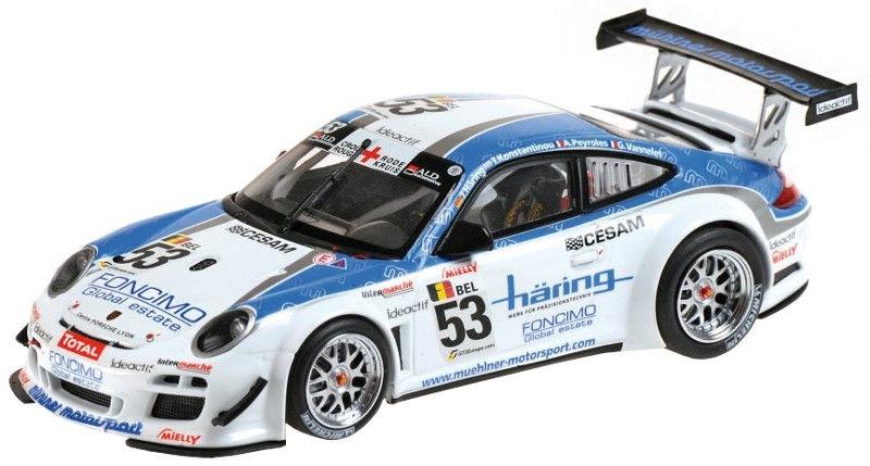 Minichamps Porsche 911 GT3R Winner 2010 White/Blue