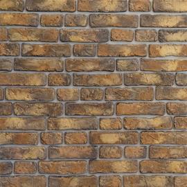 Flīzes sienai Sol Brick 0,59 dzeltenas/brūnas, 36 gab.