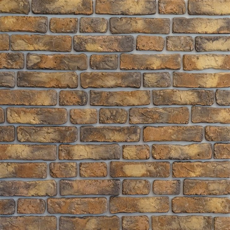 Stone Master Sol Brick Brown/Yellow 24.5x7cm