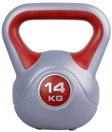 inSPORTline Dumbbell Vin-Bell Red 14kg