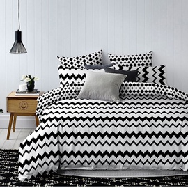 DecoKing Hypnosis Waves Bedding Set 200x200/50x75 2pcs