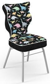 Детский стул Entelo Solo Size 3 ST30, черный/многоцветный, 310 мм x 695 мм