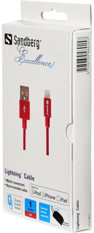 Провод Sandberg Lighning Cable Red 480-15