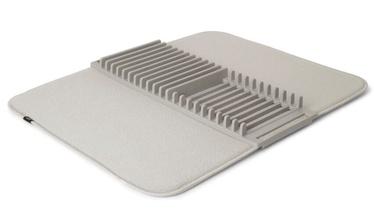 Коврик Umbra Udry Drying Mat + Rack Light Grey