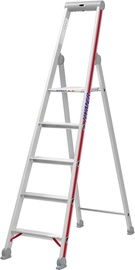 Hymer Step Ladder with Platform Single-Sided 5-Steps