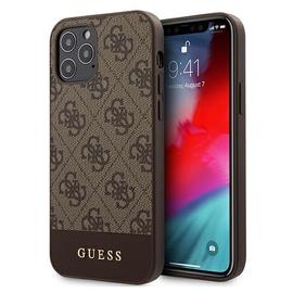 Чехол Guess Gues Premium, коричневый/черный, 5.4 ″