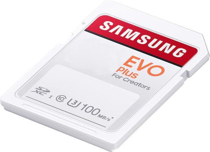 Mälukaart Samsung Evo Plus SD UHS-I U3 256GB MB-SC256H/EU