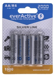 EverActive Silver Line Rechargeable Batteries R6/AA 2000mAh