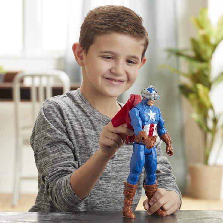 Žaislinė figūrėlė Hasbro Marvel Avengers Titan Hero Series Captain America E7374