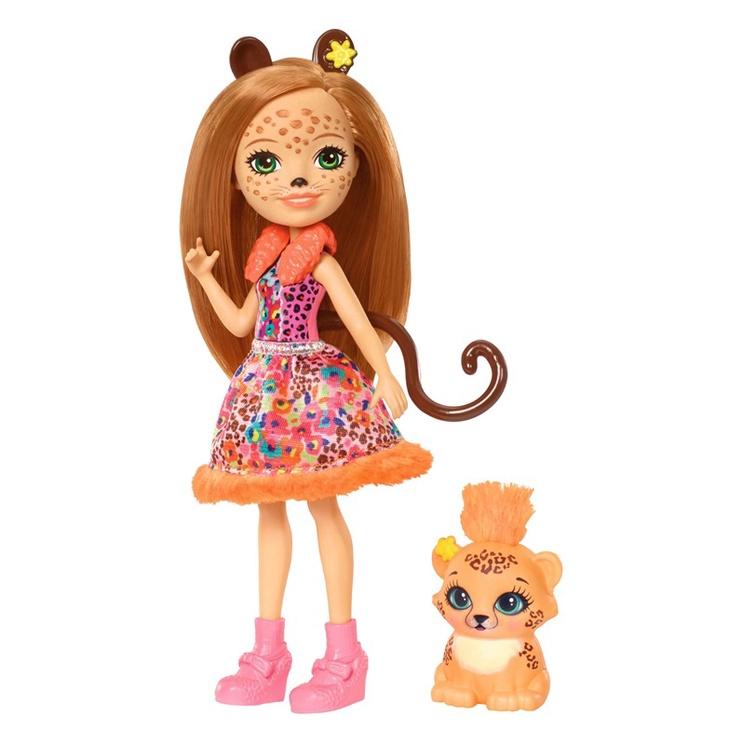 Lelle Mattel Enchantimals Cherish Cheetah FJJ20