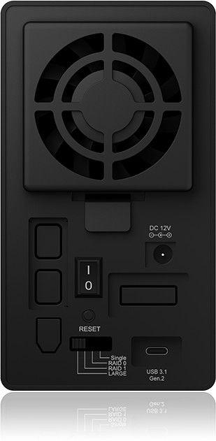 "ICY BOX External Enclosure 2 x 3.5"" RAID SATA USB 3.1 Type-C"