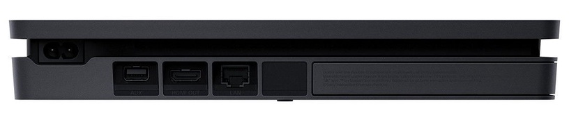 Sony Playstation 4 Slim 1TB (PS4) Black + 2 Dualshock Controller + Crash Team Racing