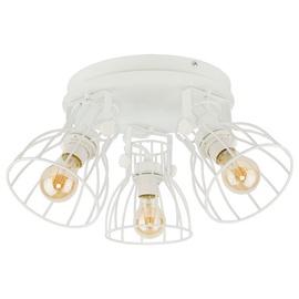 Kryptinis šviestuvas TK Lighting Alano white 2119, 3X60W, E27