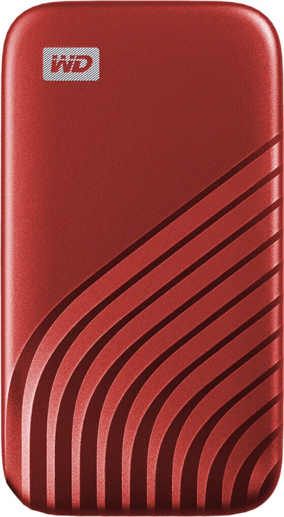 Жесткий диск (внешний) Western Digital My Passport SSD 500GB Red