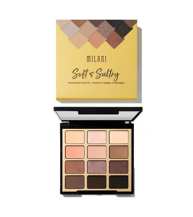 Milani Soft & Sultry Eyeshadow Palette 12g MAEP 03