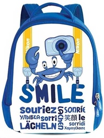 Nikon Smile Backpack For W100 Camera White/Blue