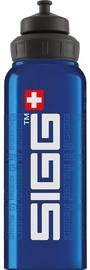 Sigg Water Bottle SIGGnature Blue 1L