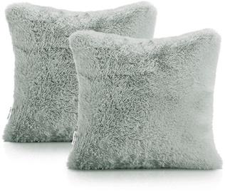 AmeliaHome Lovika Pillowcase 45x45 Grey 2pcs