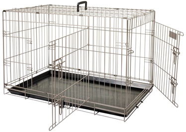 Клетка для птиц Flamingo Ebo Metallic 517580, 610 мм x 430 мм x 500 мм