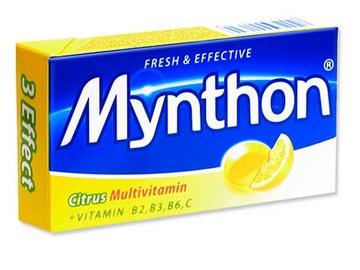 Pastilės Mynthon Citrus Multi, 34 g