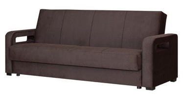 Bodzio Karmona Sofa Velour Dark Brown