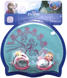 Eolo-Sport Swimming Goggles & Cap Set Frozen