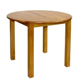Home4you Mix&Match Extendable Table 90/120cm Light Oak