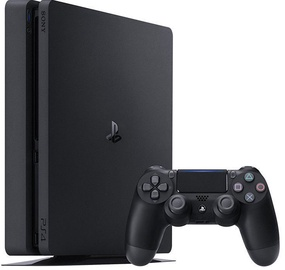 Sony Playstation 4 (PS4) Slim 500GB Black + FIFA 20
