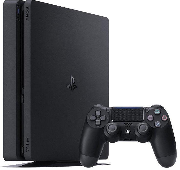 Sony Playstation 4 (PS4) Slim 500GB Black + FIFA 20