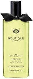 The English Bathing Company Boutique Body Wash 500ml Lime & Orange Blossom