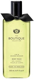 Dušigeel The English Bathing Company Boutique Lime & Orange Blossom, 500 ml