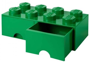 LEGO Storage Brick Drawer 8 Green