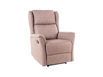 Кресло Signal Meble Zeus Brown, 74x93x108 см