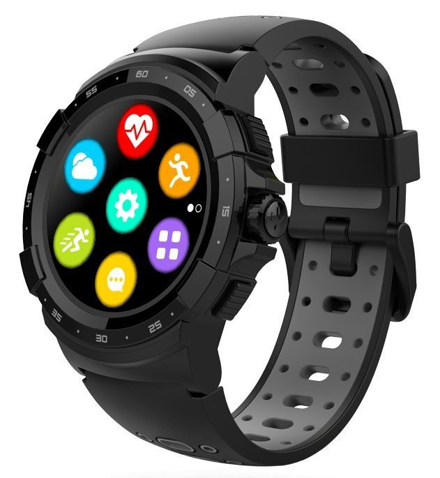 Išmanusis laikrodis MyKronoz ZeSport 2, juoda/pilka