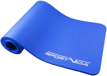 SportVida NBR Thicker Exercise Fitness & Yoga Mat Blue