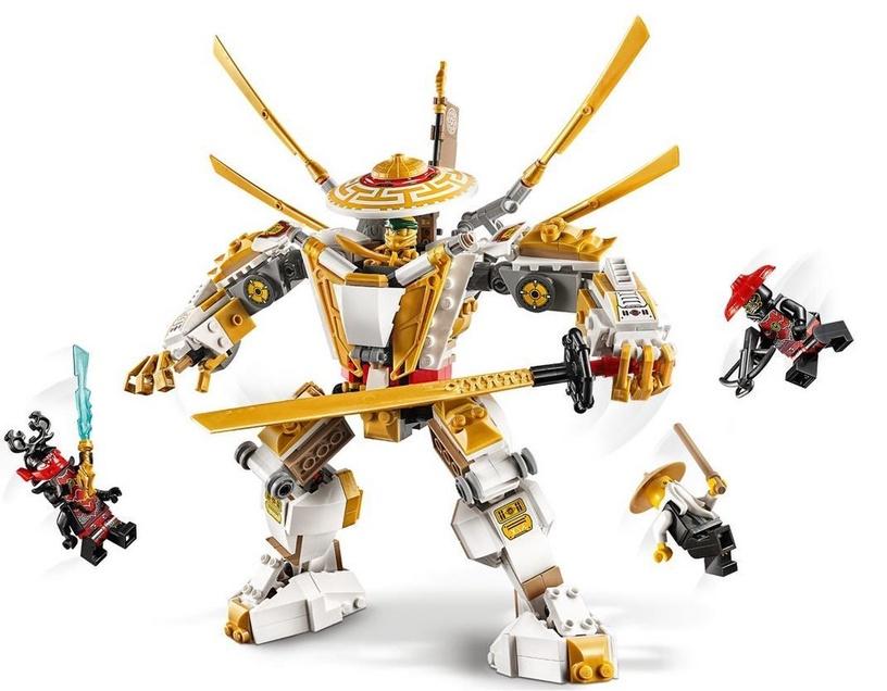 Konstruktorius LEGO®Ninjago 71702 Auksinis mechaninis robotas