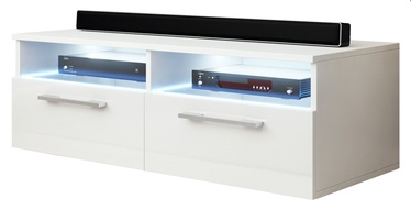 TV galds Vivaldi Meble Bonn, balta, 1000x460x350 mm