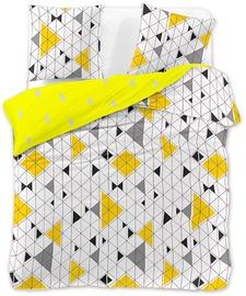 Gultas veļas komplekts DecoKing Geometric, 230x220/50x75 cm