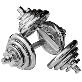 inSPORTline YLDS14 Chromed Dumbbells 2x7.5kg
