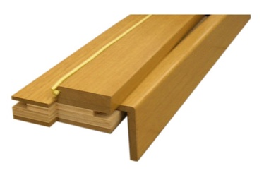 Durų stakta, reguliuojamoji, šviesaus ąžuolo, 100–133 x 980 x 2060 mm