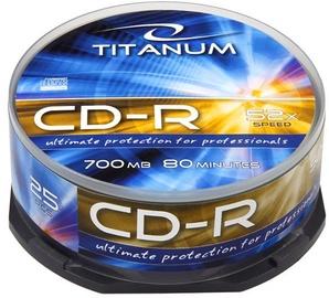Esperanza 2025 CD-R Titanum 52x 700MB Cake Box 25