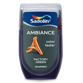 Krāsu paraugs AMBIANCE FACTORY GREEN 30ML