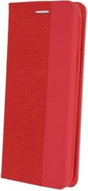 OEM Smart Senso Book Case For Xiaomi Redmi Note 8T Red