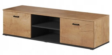 Cama Meble Soho 140 TV Stand Oak/Black