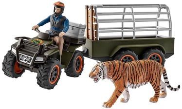 Schleich Quad Bike With Trailer And Ranger 42351
