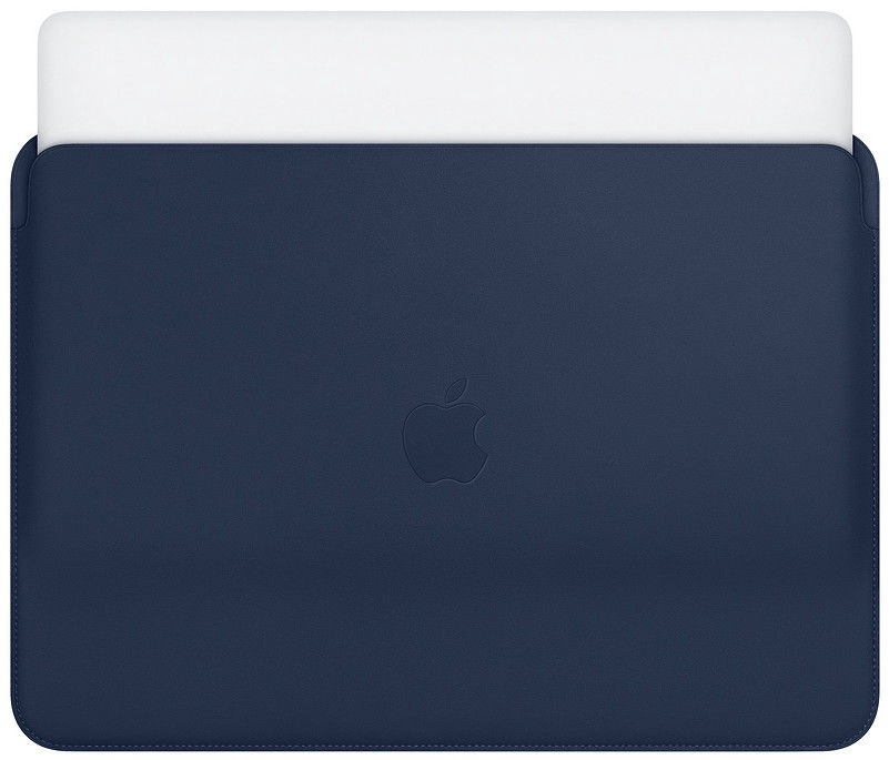 "Apple Leather Sleeve For 13"" MacBook Pro Midnight Blue"