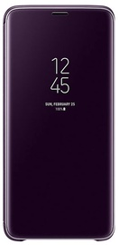 Samsung Clear View Standing Cover For Samsung Galaxy S9 Plus Purple
